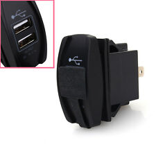 CAR BOAT BLUE LED DUAL USB CAR CHARGER ARB CARLING ROCKER SWITCH 5V 3.1A