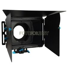 FOTGA DP3000 Professional Matte Box Sunshade +Filter Trays for 15mm Rod DSLR Rig