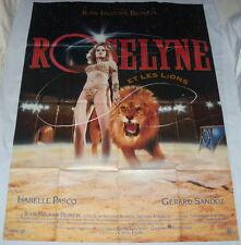 ROSELYNE ET LES LiONS  Jean-Jacques Beineix Cirque Circus  GRANDE AFFiCHE