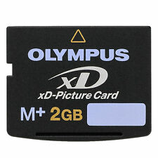 Olympus 2GB 2G xD Picture Card Type M Plus M+ Memory Card for Olympus / Fujifilm