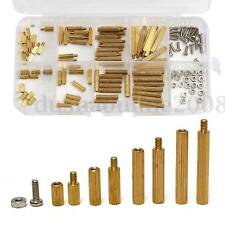 120Pcs Kit M2 6-20mm Vis Écrou Entretoise Hexagonal en Laiton Brass Assortiment
