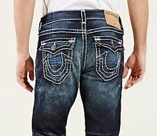 NWT TRUE RELIGION JEANS $369 MENS RICKY SUPER T FLAP IN DRY BRUSH SZ 33