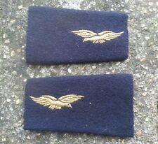 Fourreaux d'épaulettes de l'armée de l'air . obsolète . années 90 . aviation