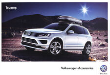 2015 2016 VW Volkswagen Touareg Original Factory Accessories Brochure Catalog