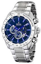 Festina reloj hombre dual time chronograph Chrono f16488/b