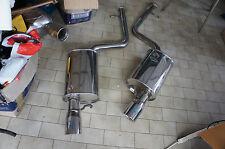 JDM Blitz Toyota Aristo JZS161 lexus gs300 gs400 twin Exhaust muffler 98-05