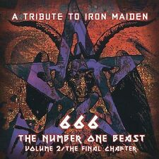 Various Artists, Iron Maiden Tribute: 666 Number One Beast 2 Audio CD