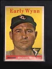 1958 TOPPS #100 EARLY WYNN EX D4828