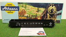 WAGON TRAIN 50' OPEN OR COVERED GONDOLA ERIE LACKAWANNA nr 1/87 HO ATHEARN 1645