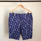 GITMAN BROS VINTAGE HAWAIIAN BLUE SHORTS PAISLEY HULA JAPANESE 3D CAMO MSRP $198