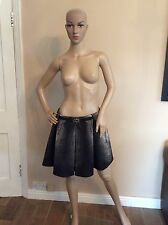 Just Cavalli Roberto Cavalli Skirt Size 42, Grey Uk 10 Immaculate