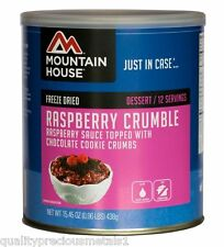 3 Cans - Raspberry Crumble - Mountain House Freeze Dried Emergency Food Supply