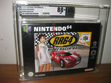 Ridge Racer 64 VGA 80+ - Nintendo 64 - New - Factory Sealed N64