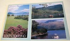 Scotland Multi-view Loch Lomond PIN01504 J Arthur Dixon - posted 1993