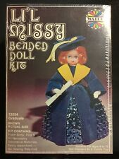 VINTAGE LI'L MISSY BEADED DOLL KIT #13334 Graduate NEW SEALED