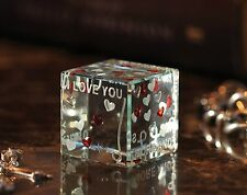 Spaceform Love Cube Romantic Love Gift Ideas for Her, Him, Men Birthdays 1433