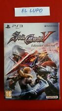 SOULCALIBUR V 5 EDITION COLLECTOR PS3 SONY NEUF SOUS BLISTER VERSION FRANCAISE