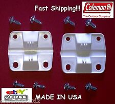COLEMAN PLASTIC COOLER 2 HINGES 8 SCREWS #6262-1141 ICE CHEST HINGE REPLACEMENT