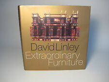1996 DAVID LINLEY 'EXTRAORDINARY FURNITURE' SIGNED ! WOOD INTERIOR DESIGN STYLE