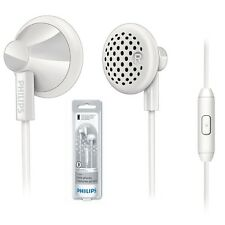 Philips SHE2115WT In-Ear Headset Earphone For Smartphones SHE2115 White /GENUINE
