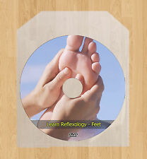 Learn Feet Reflexology Course Treatment Massage Points Acupressure DVD Course