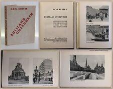 Köster: Russland Querdurch 1933 Erlebnisbericht Pfadfinder Reisen Landeskunde xz