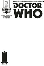 TITAN COMICS DOCTOR WHO #1 TWELFTH DR BLANK GET A SKETCH VARIANT EDITION 12TH