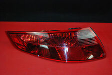 Porsche 911 997 Turbo LEFT Factory Driver ALL RED Tail Light Lamp Lens OEM