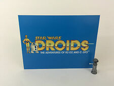 """Vintage Star Wars droids large logo backdrop For Display 16"""" x 12"""""""