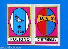 CALCIO FLASH '86 Lampo - Figurina-Sticker - FOLIGNO-CIVITANOVESE SCUDETTO -New