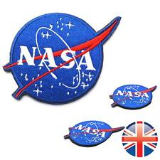 *UK Seller* Velcro 3D Embroidery NASA Space Agency Logo Badge Patch