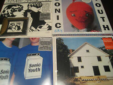 "SONIC YOUTH GOO COLLECTION MFSL 24 KARAT GOLD CD + DIRTY BOX + 12"" SINGLE + 3 LP"