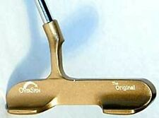 OverSpin Original Golf Club Putter Brass - BRAND NEW!  Graphite shaft.