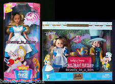 Alice in Wonderland Kelly Doll Mad Hatter Tommy Barbie & My Favorite Fairytale G