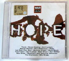 VARIOUS - WAR CHILD -  HOPE - CD Sigillato- David Bowie George  Michael Travis