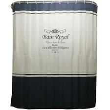 New Fashion English Crown Bathroom Shower Curtains Ring Pull Easy To Install