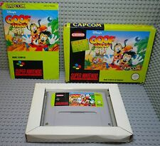 Goof Troop - Super Nintendo SNES - Complet Boite & Notice - FAH