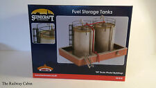Skaledale/Bachmann Scenecraft 44-016 OO Gauge Building Fuel Storage Tanks