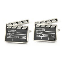 Clapper Board Cufflinks Gift Boxed N195 clapperboard movie film production BNIB