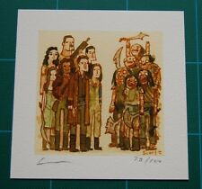 Firefly vs The Reavers Scott Campbell print Showdowns Art Joss Weadon Serenity