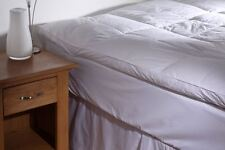 Goose Feather and Down Mattress Topper White - Double Bed Size