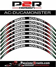 Adesivi cerchi Ducati Monster S4r S4rs 1200 striscie ruote whees stickers decals