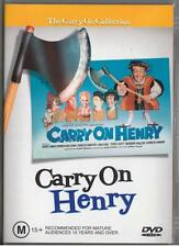 CARRY ON HENRY - SID JAMES - NEW & SEALED REGION 4 DVD FREE LOCAL POST