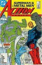 Action Comics # 590 (John Byrne) (Superman, co-star anillo Metal Men) (Estados Unidos, 1987)