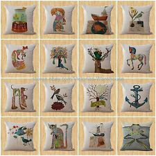 lot of 15 wholesale cushion covers whale fish nautical throw pillows for office