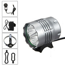 8000Lm 4x XM-L T6 LED Front Head Bicycle Lamp Bike Light HeadLight Torches 3mode
