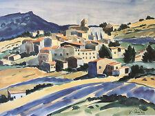 Jean-Claude Quilici Aurel Haute-Provence impression timbre sec Éditions Hazan