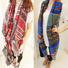 Bohemian Women Fashion Voile Soft Scarf Beach Wrap Lady Girl Shawl Large Scarves