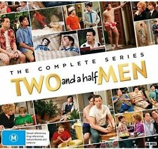 Two And A Half Men : The Complete Series : Season 1 - 12 : NEW DVD