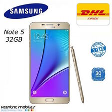 Samsung Galaxy Note 5 N920C - 4G - GOLD - 32GB - BRAND NEW SEALED - DHL Express